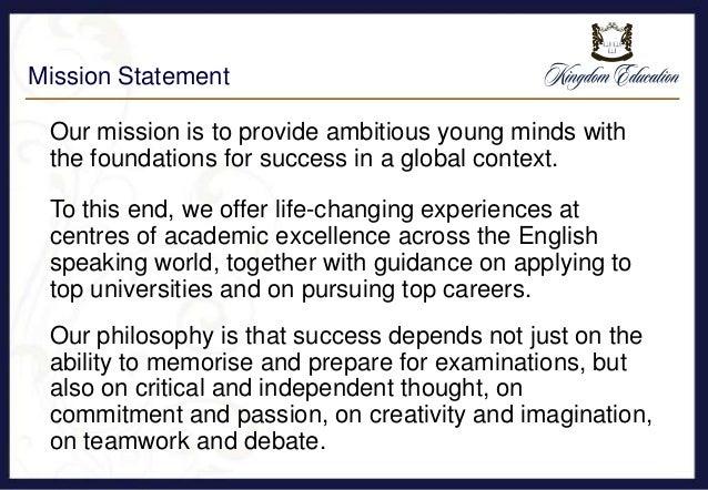 Introduction to kingdom education summer school programmes 2016 Slide 2