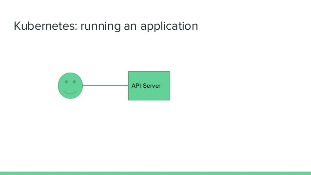 Kubernetes: running an application API Server