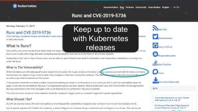 Introduction to Kubernetes Security (Aqua & Weaveworks)