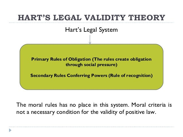 thesis of law