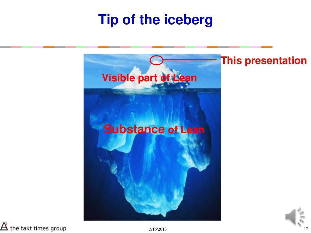 Tip Of The Iceberg This