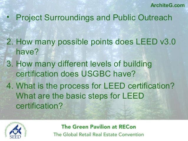 Introduction to leed green associate exam prep by gang for What is leed