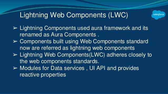 Introduction to lightning Web Component