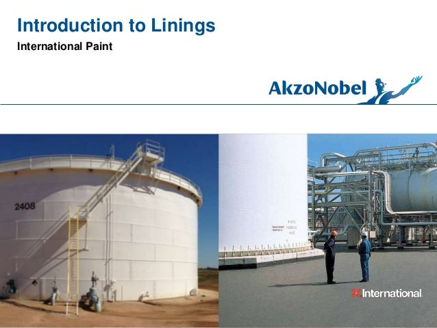 Introduction to Linings International Paint