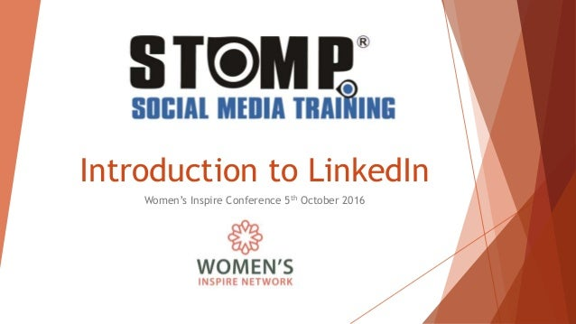 Introduction to LinkedIn Women's Inspire Conference 5th October 2016