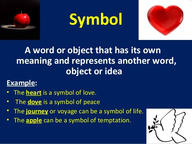introduction to literary forms symbol a