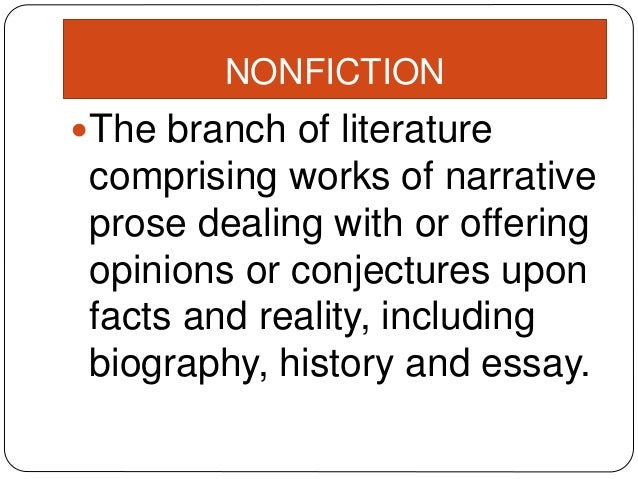 literary genres essay This chapter will review types of essays and literary genres, didactic literature, and more through interesting lessons use the quizzes to check.