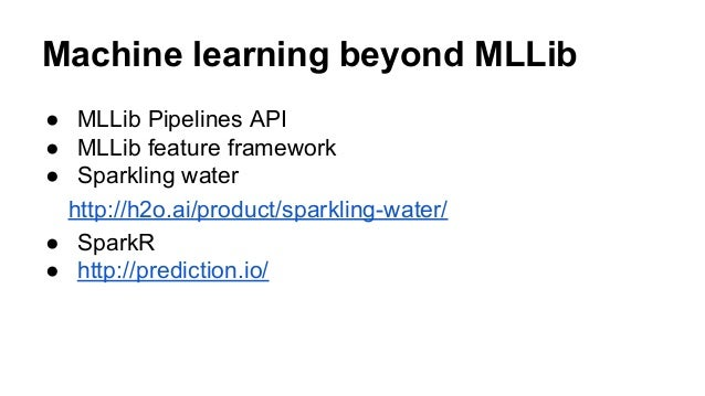 spark machine learning exle