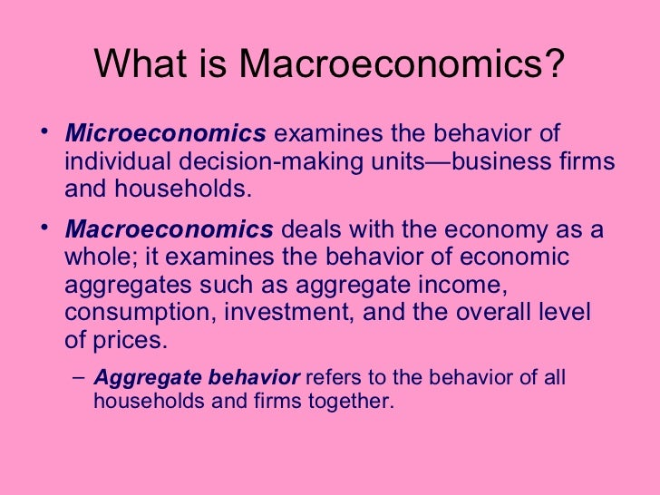 microeconomics and macroeconomics in canada essay Subject code - econ (economics)  economic history of canada: econ 337:  honours essay: econ 500: microeconomics: econ 502: macroeconomics:.