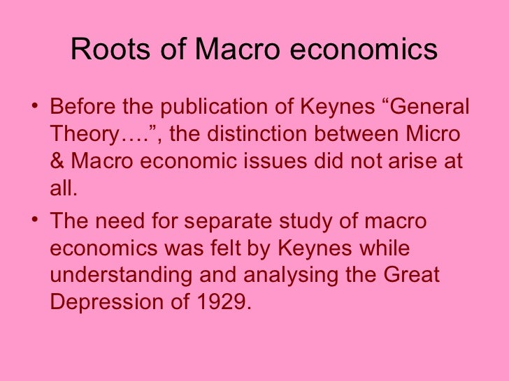 distiction between micro and macro economics This scenario was governed by the macro and micro economics where the central banks had to take huge leaps to stabilize their respective economies because trading between countries is an integral part of economics, the economic policies associated with the countries tend to transcend boundaries along with the products and services supplied.