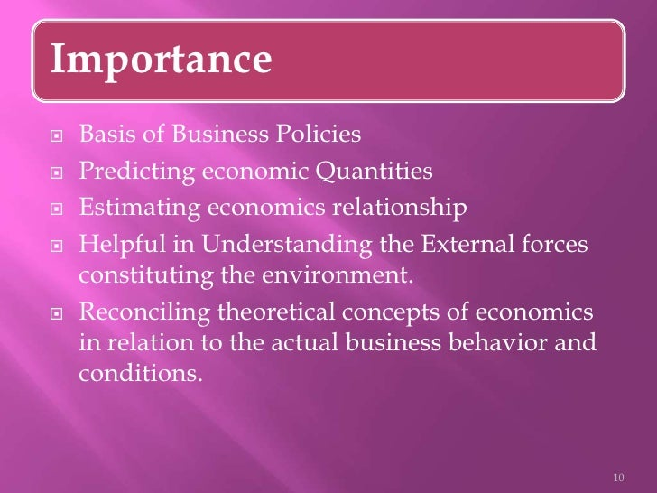 Importance and Uses of Microeconomics! - Your Article Library