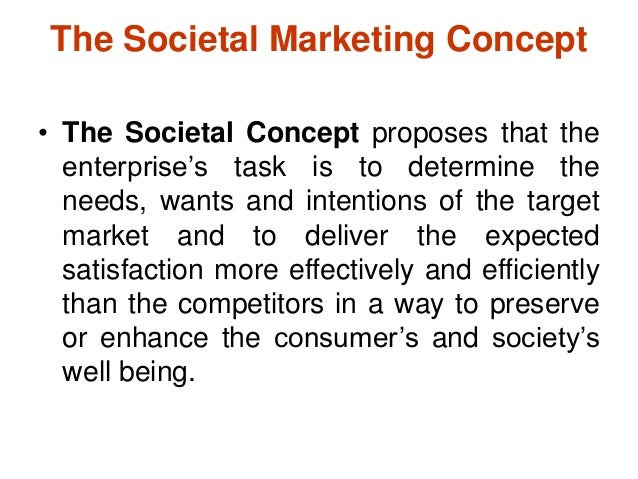 Introduction to marketing and marketing concepts