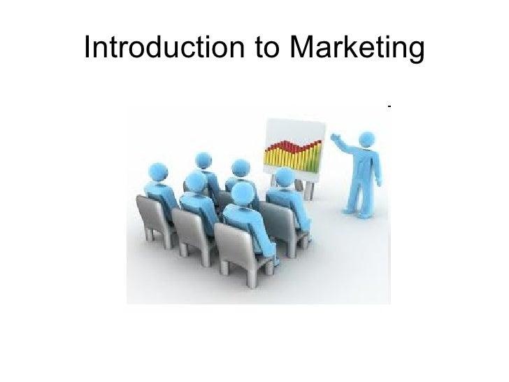 introduction to marketing management pdf