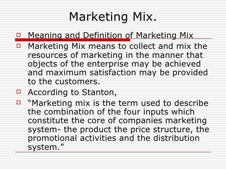 Introduction to marketing management Marketing Definition