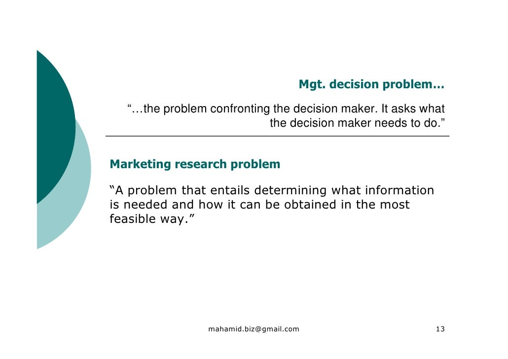 How to Write the Introduction of a Marketing Research Report
