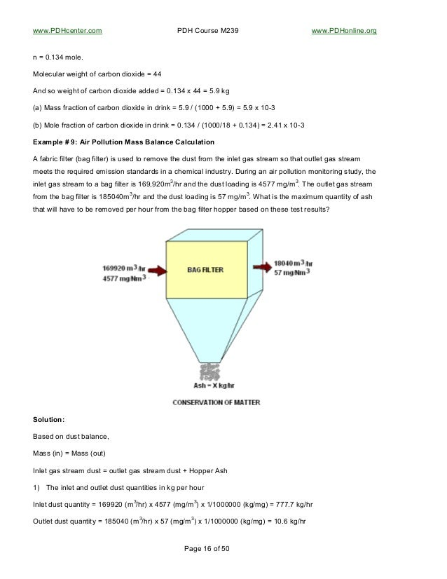 material and energy balance pdf