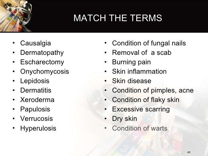 Fungal Rash Description Medical Terminology – Billy Knight