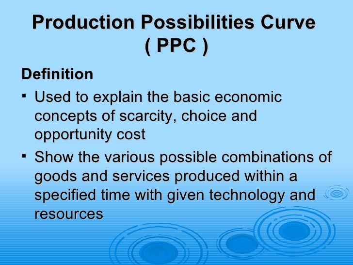 explain concepts of microeconomics Aka efficiency in output , a state of the economy in which production reflects consumer preferences in particular, every good or service is produced up to the point where the last unit provides a marginal benefit to consumers equal to the marginal cost of producing it.