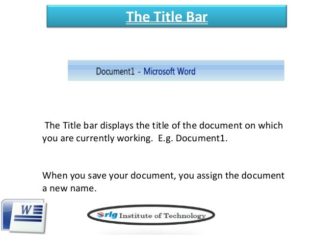 working with microsoft word 2007