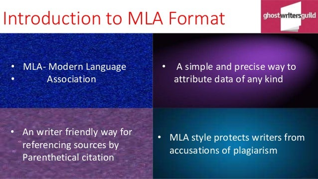 Introduction To Mla Citation Format