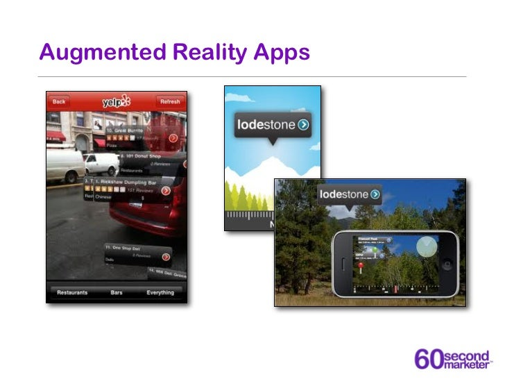 Augmented Reality Apps