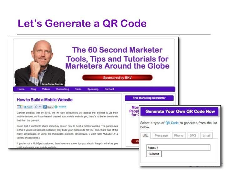 Let's Generate a QR Code