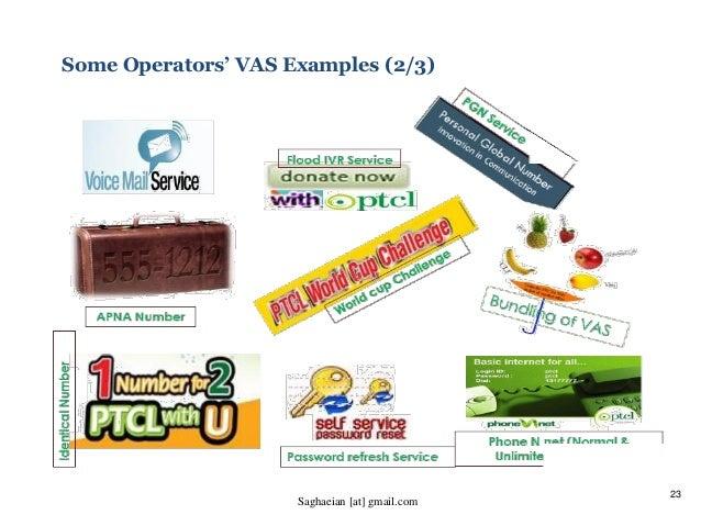 23 Some Operators' VAS Examples (2/3) Saghaeian [at] gmail.com