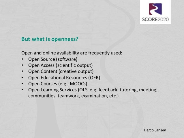 what is open availability
