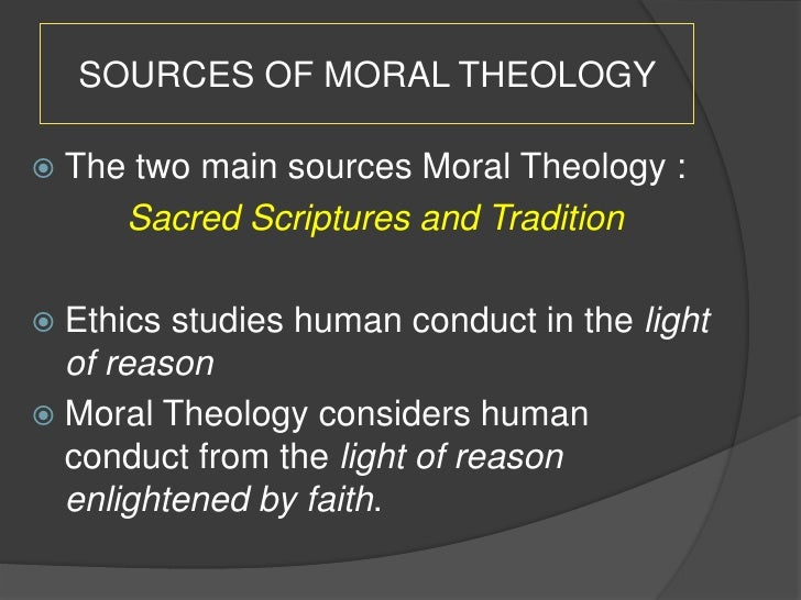 case study medical moral theology The coordinating themes for the courses in christian ethics and moral theology at the school of theology pacifism, medical ethics case studies as well as.