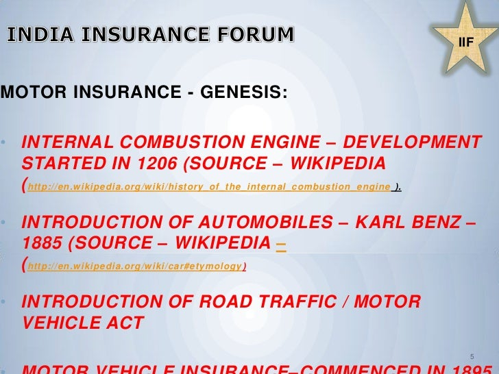 Introduction To Motor Insurance