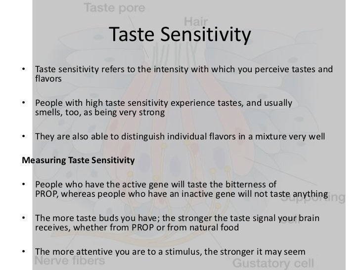 taste perception At a glance by manipulating areas of the mouse brain that represent sweet and bitter taste, researchers were able to control the animals' perception of these tastes.