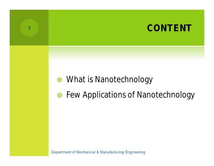 Introduction to Nanotechnology K A  Dimuthu Dharshana