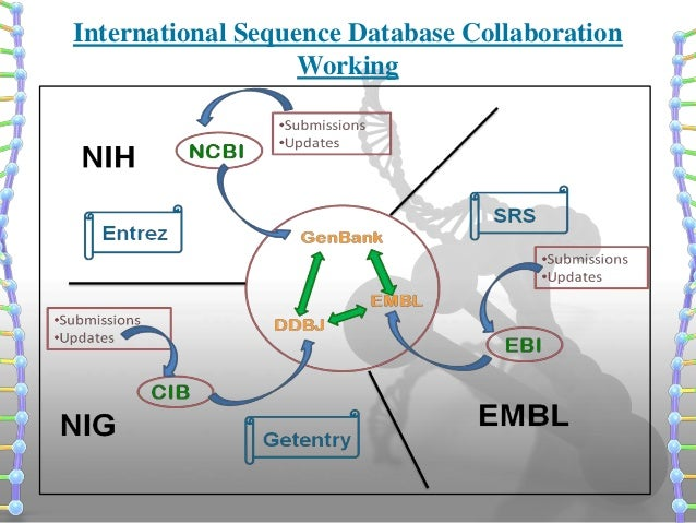 Introduction to ncbi international sequence database collaboration working stopboris Image collections