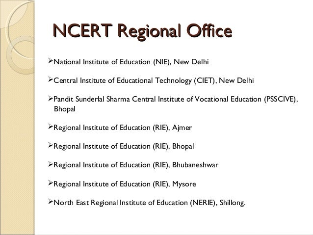 Introduction to ncert