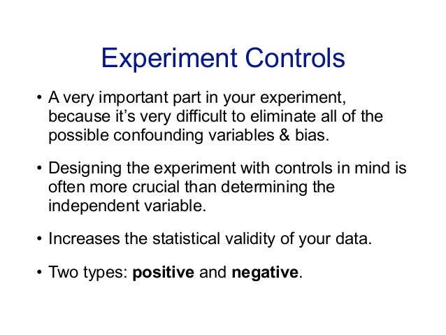 Why Is A Control Group Important In An Experiment 65