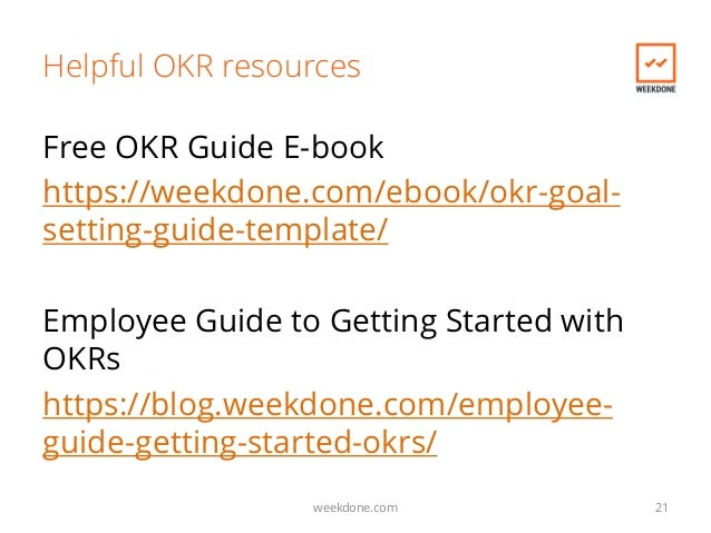 Introduction To Objectives And Key Results. The Basics & Faq Of Okrs.