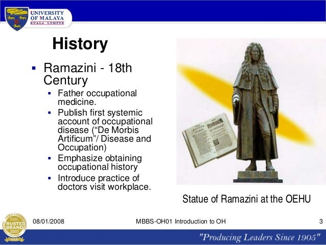 the history of occupational health and Milestones in the history of occupational health psychology 1966 - us public  health service recognizes work organization and stress as developing.
