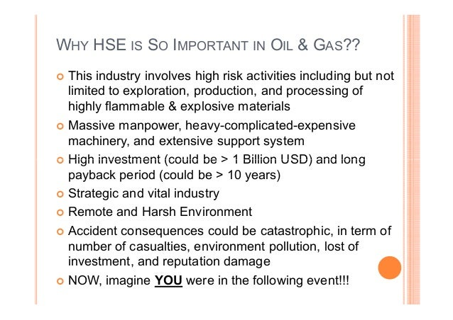 introduction to oil gas health safety environment rh slideshare net Health and Safety Manual Employee Health and Safety Manual