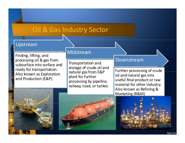Introduction To Oil And Gas Industry Upstream Midstream