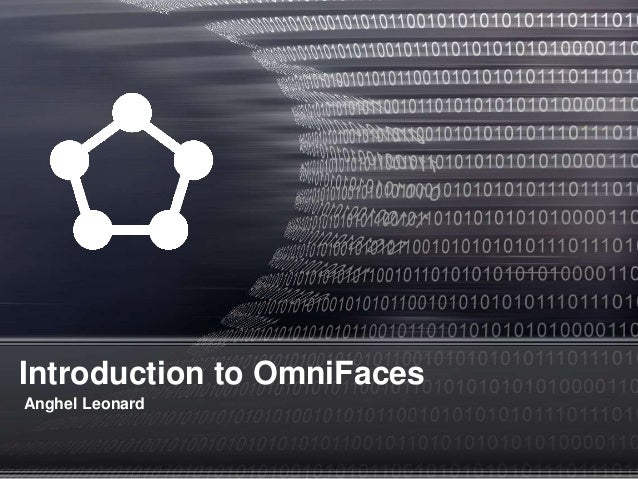 Introduction to OmniFaces Anghel Leonard
