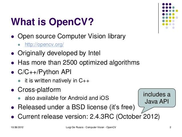 introduction to opencv