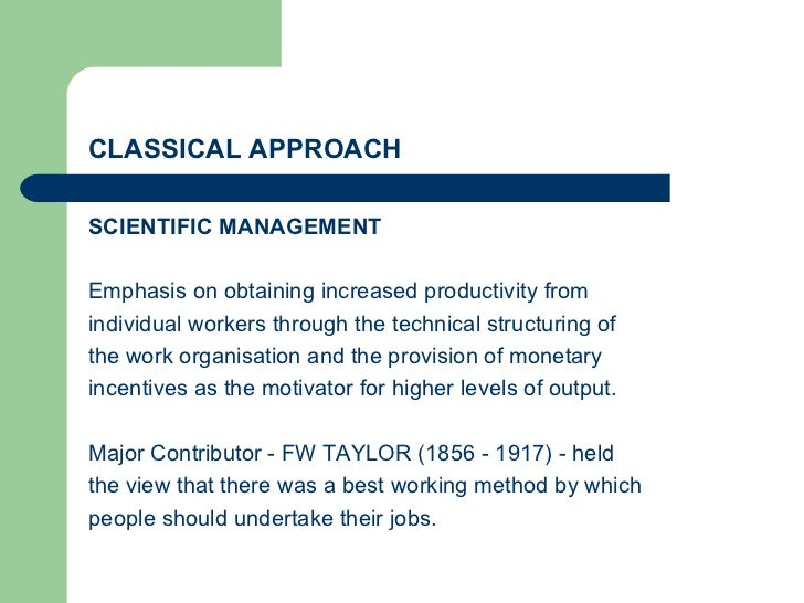 Henri Fayol's Principles of Management