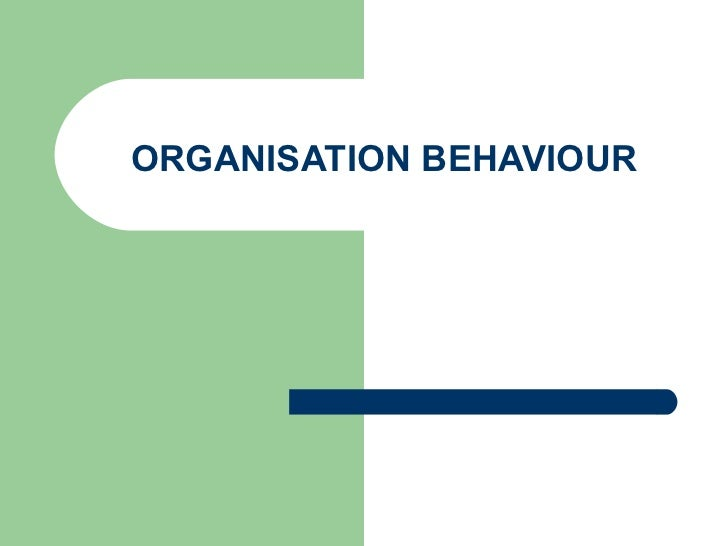 Introduction to organisation behaviour