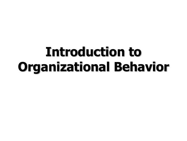Behavior in Organizations, 9th Edition