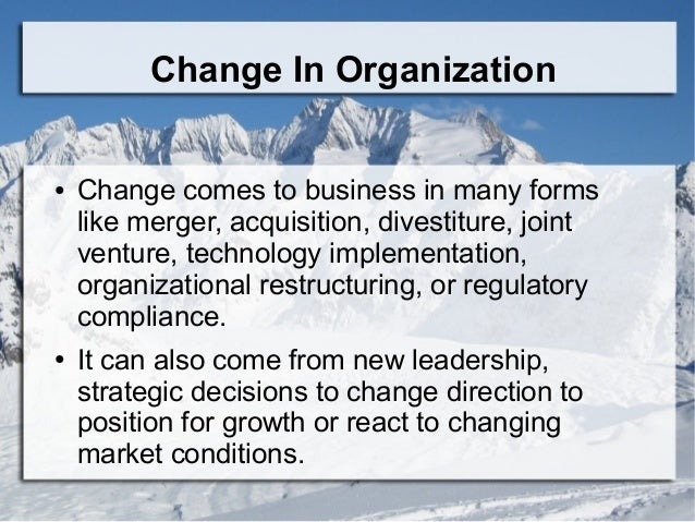 introduce change in my organisation How to manage organisational change managing rolling out change initiatives with a team or across an organisation that when managers introduce change.