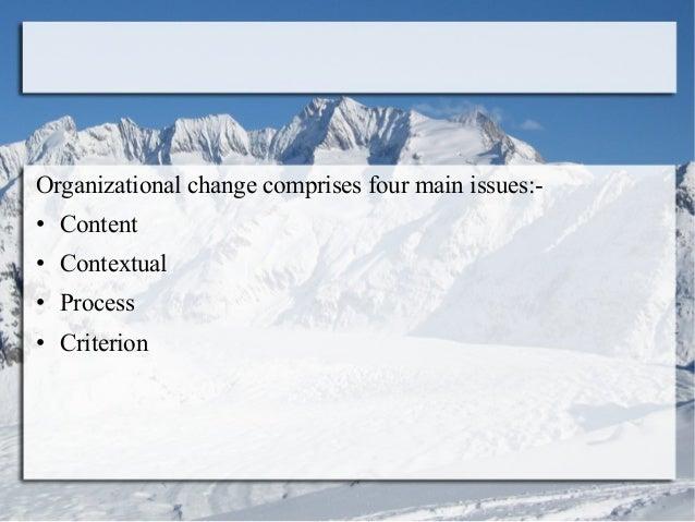 Introduction to organizational change Slide 3