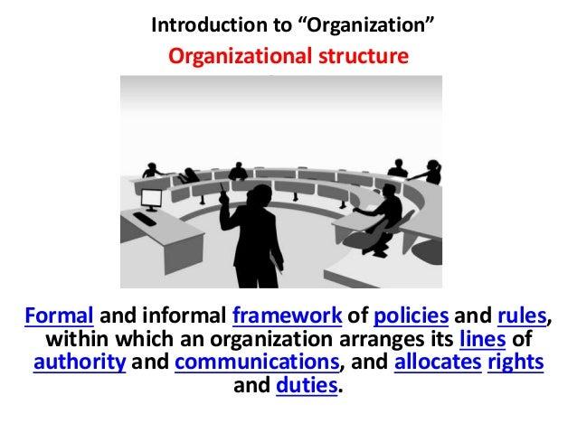 presentation introduction to organization 4 chapter 1 • introduction to organizational behavior what is organizational behavior to begin our study of organizational behavior,.