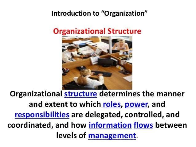presentation introduction to organization Introduction to organizational readiness to change wendy ulaszek, phd  presentation to:  both the introduction of new interventions into clinical.