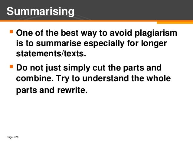 an introduction to plagiarism Video created by university of california, irvine for the course advanced writing the topic of this module is very important for you to know about before you start taking college classes plagiarism is a kind of academic dishonesty that gets.