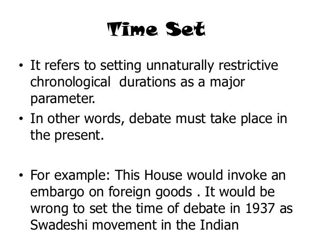 how to write a debate introduction example
